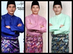 Baju Raya Aaron Aziz